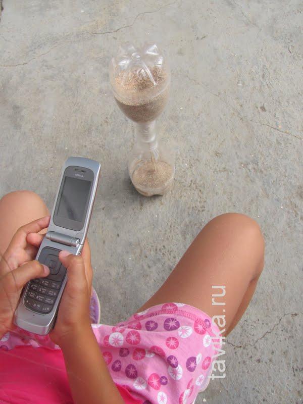 как сделать песочные часы
