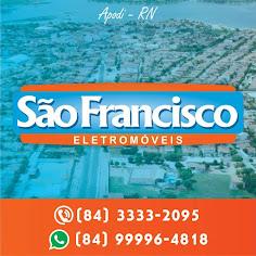 São Francisco Eletromóveis (84) 3333-2095
