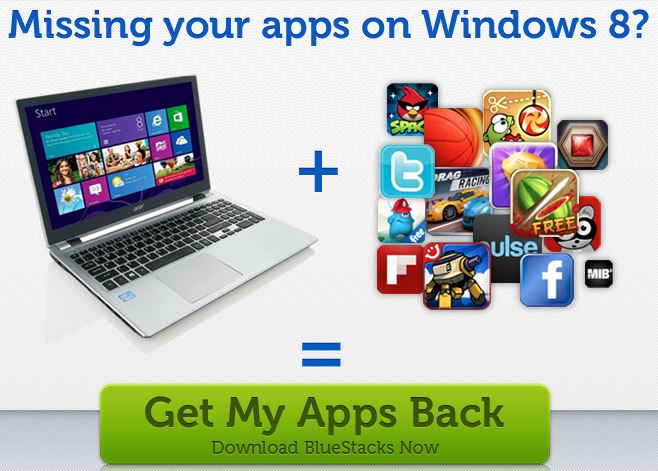 Android su Windows 8