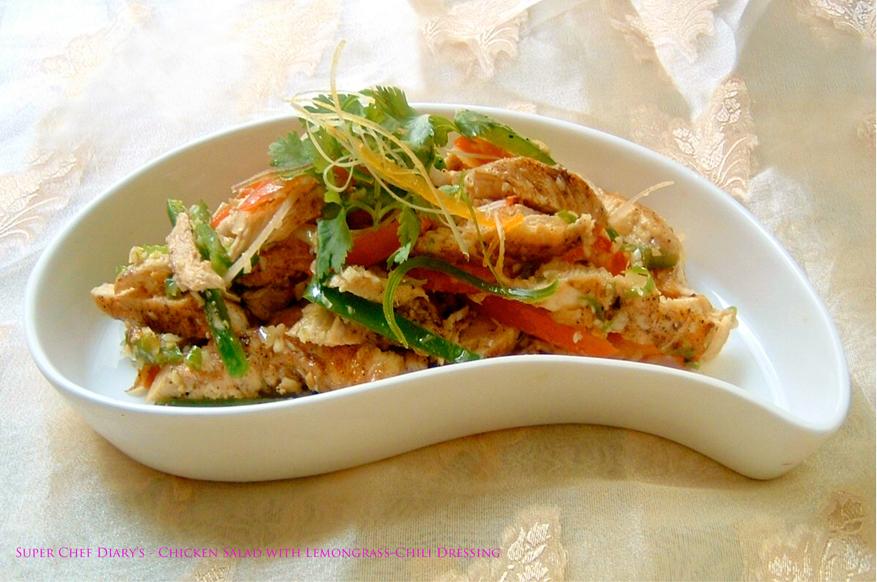 Super Chef Diary Be Siap Sambal Matah Chicken Salad With