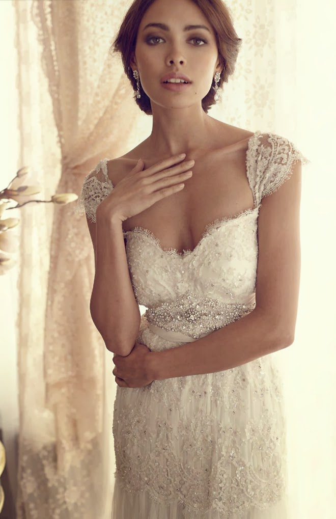 Anna campbell 2013 gossamer collection part 2 the for Anna campbell wedding dresses
