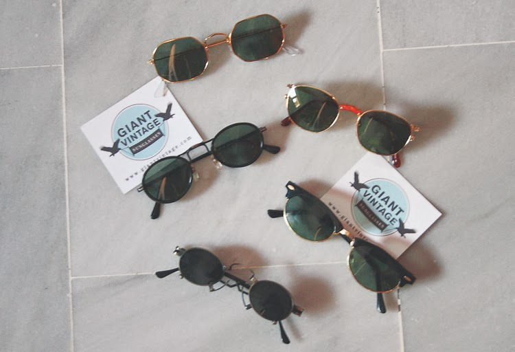 Find your perfect sunglasses thanks to Giant Vintage