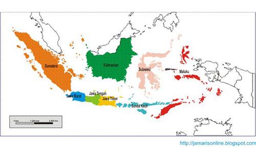 Pembagian Provinsi di Awal Kemerdekaan