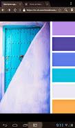Примерное сочетание цветов моего покрывала