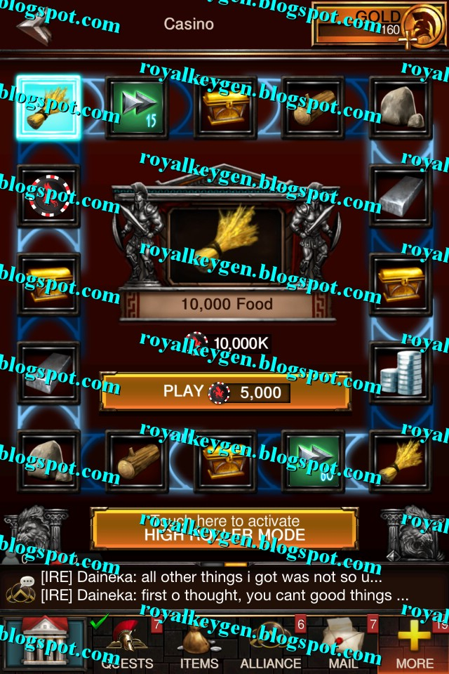 Royal Cheats: Game of War Fire Age Hack Tool [FREE] [Unlimited Gold