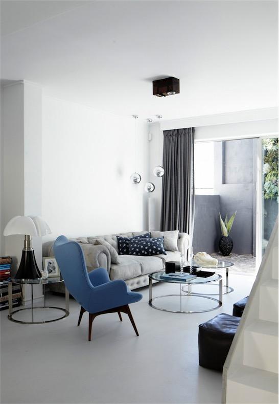 casa minimalista llena de luz