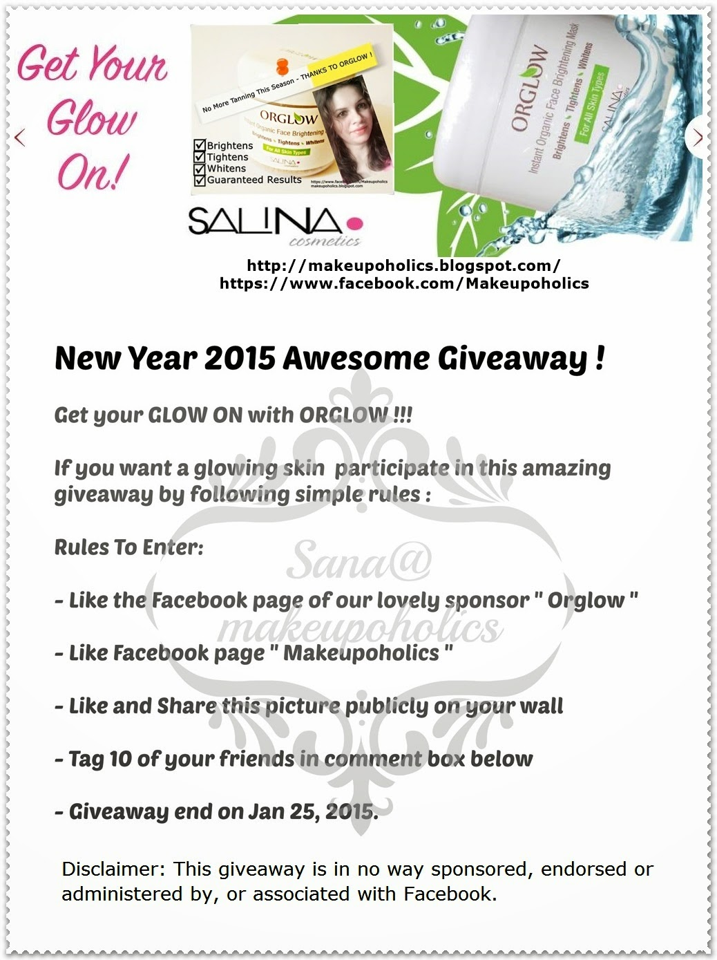 New Year 2015 Awesome Giveaway