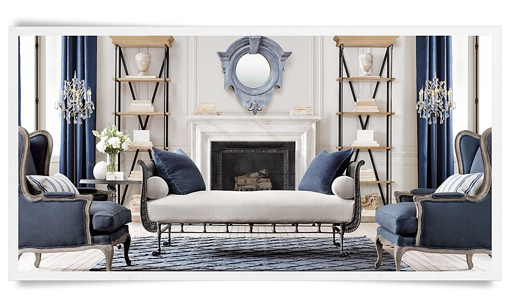 dressed up buttoned down inspiration restoration hardware redux