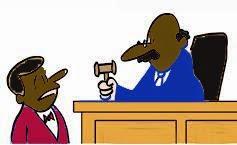 the judge announced