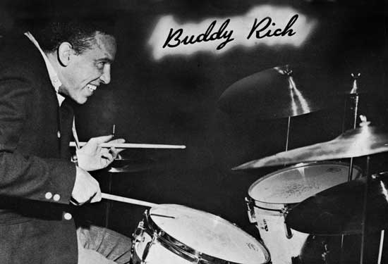 buddy rich Hugo pinksterboer interviewed clover for a buddy rich tribute article that  appeared in the dutch drummer's magazine slagwerkkrant, issue 79, march/april .