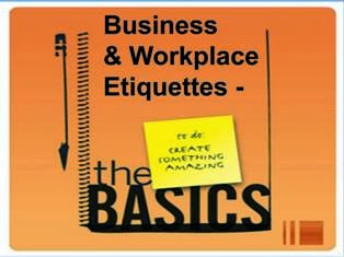 Professional Workplace Etiquettes PPT Slide 1