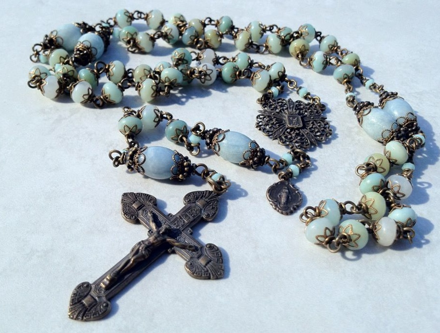 All Beautiful Catholic Beads: Old World Rosary