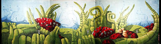 graffiti para cafeteria