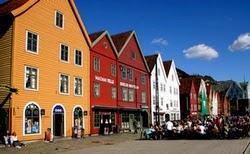 VisitarBergen.es - El muelle de Bryggen
