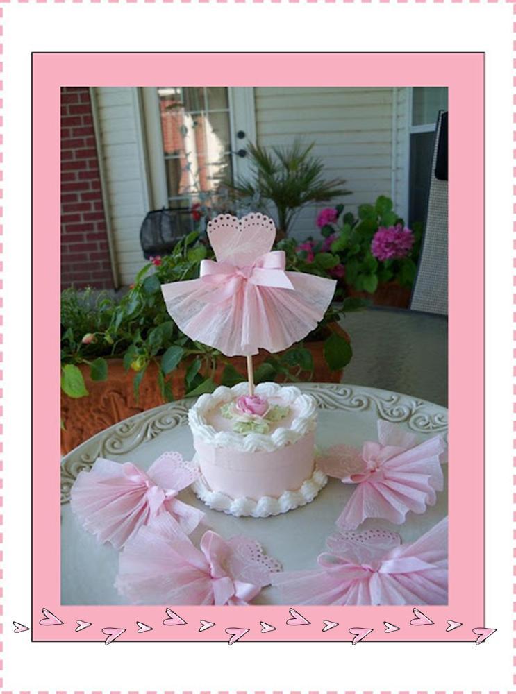 It 39 s written on the wall pinkalicious or ballerina for Ballerina decoration ideas