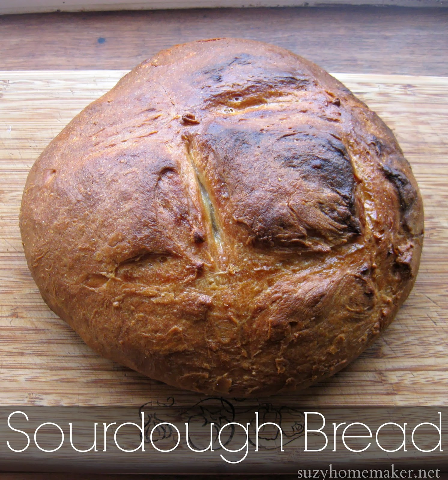 sourdough bread | suzyhomemaker.net