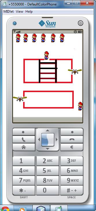 Contoh Game Midlet J2ME Pada NetBeans IDE Sederhana