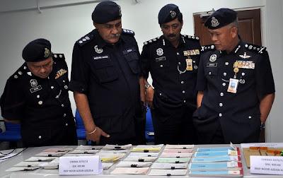 Polis tumpas sindiket ubah suai cek, seorang ditahan