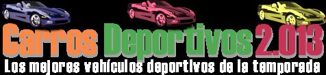 Carros Deportivos 2.013