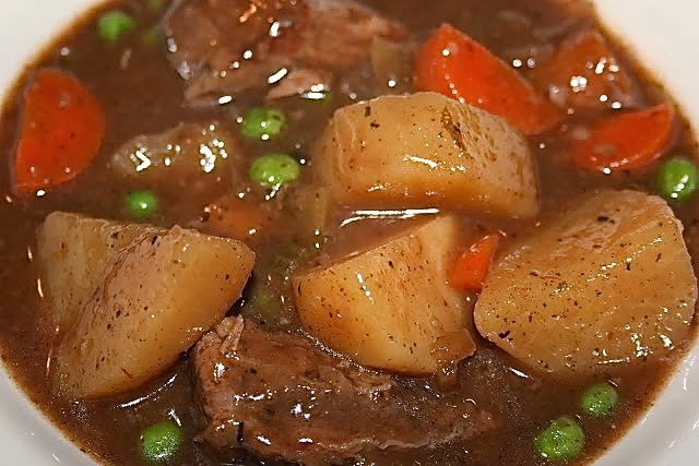 Half Crocked Beef Stew