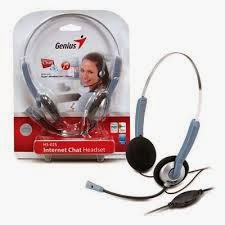 ajc computer headset genius hs 025 ready for inter