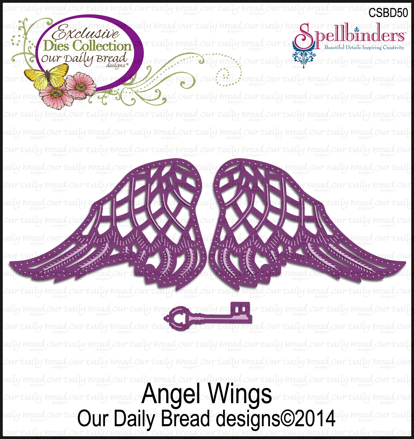 Our Daily Bread Designs Custom Angel Wings Die