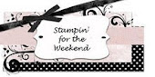 Stampin' for the Weekend challenge