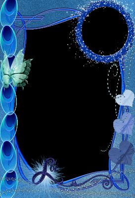 fotomontaje azul