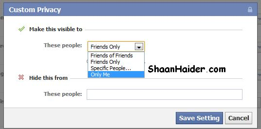 HOW TO: Hide Your Facebook Friends List From Other Users