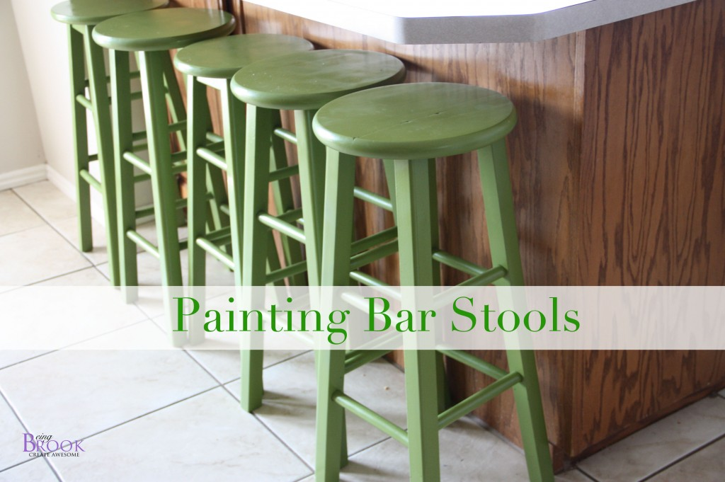 How to Paint Bar Stools Kitchen makeover BeingBrook : paintbarstools from www.beingbrook.com size 1024 x 681 jpeg 126kB