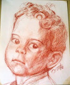 MI PRIMER RETRATO A LPIZ
