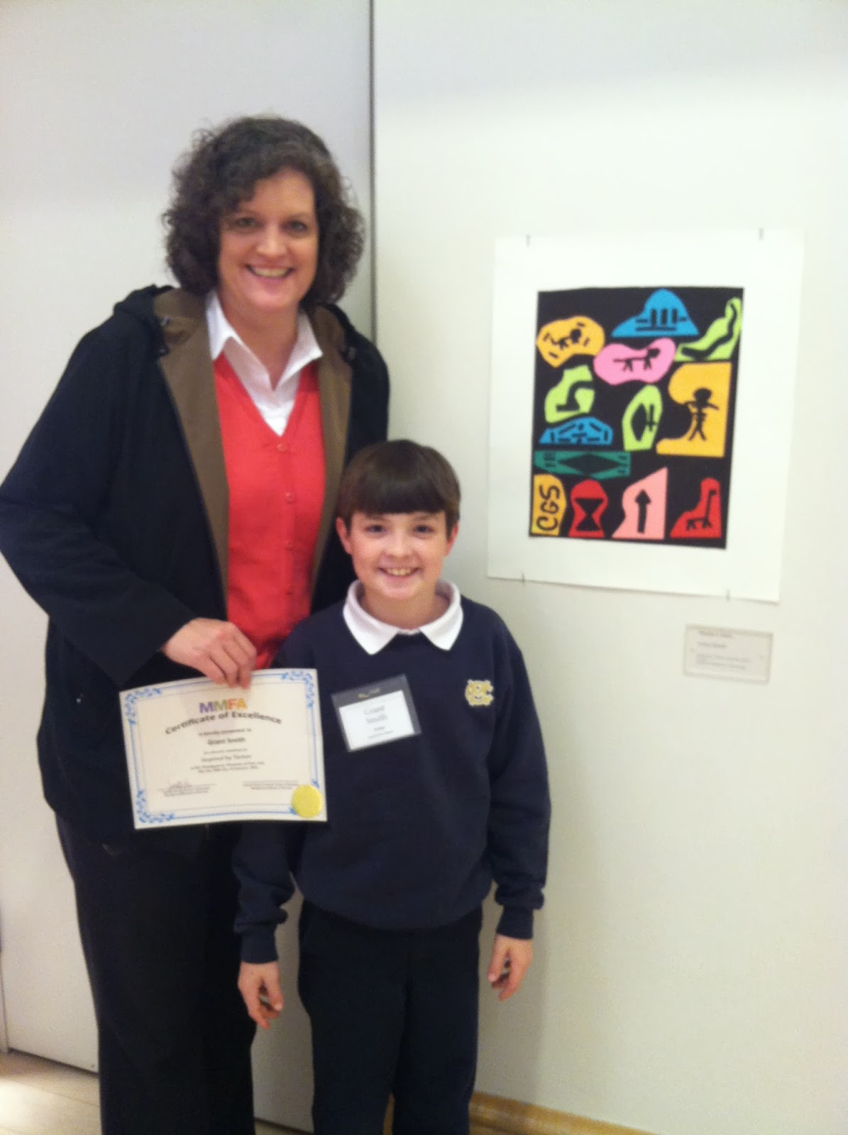 MONTGOMERY CATHOLIC STUDENTS SHOW ART AND PERFORM AT THE MONTGOMERY MUSEUM OF FINE ARTS. 2