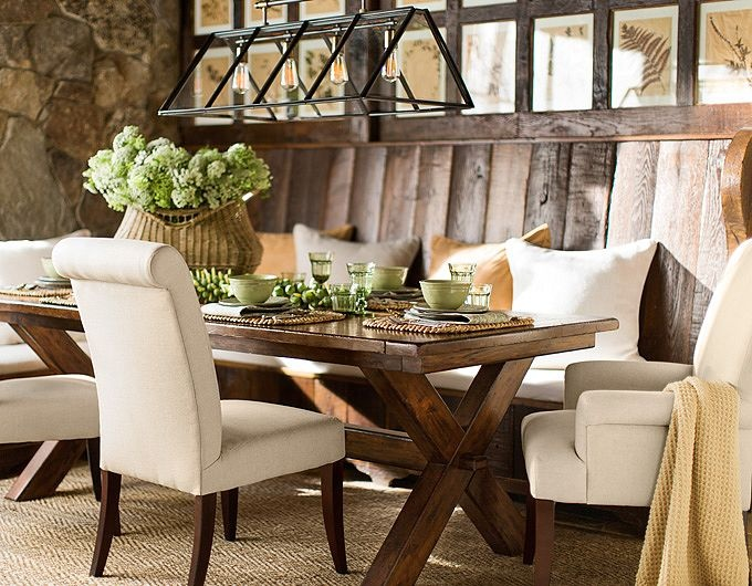 I Also LOVE HGTVs Fixer Upper And Envy Joanna Gaines Style Like This Dining Room She Styled On One Of Her EpisodesSO Pretty