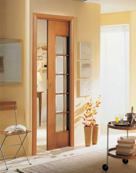 pocket doors open close doors