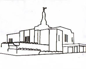 Coloring Pages on Pattern Shmattern  Lds Temple Coloring Page  Winter Quarters Nebraska