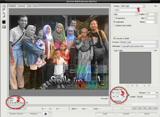 cara mengkompres gambar dengan photoshop