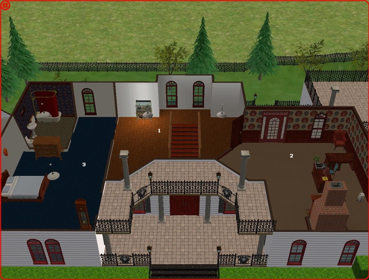 22 introducing malcolm landgraab iv the trials and for Sims 3 6 bedroom house