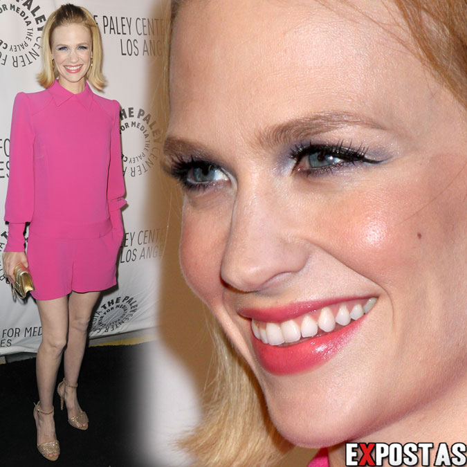 January Jones: The Paley Center for Media's Annual Los Angeles Benefit - 22 de Outubro de 2012