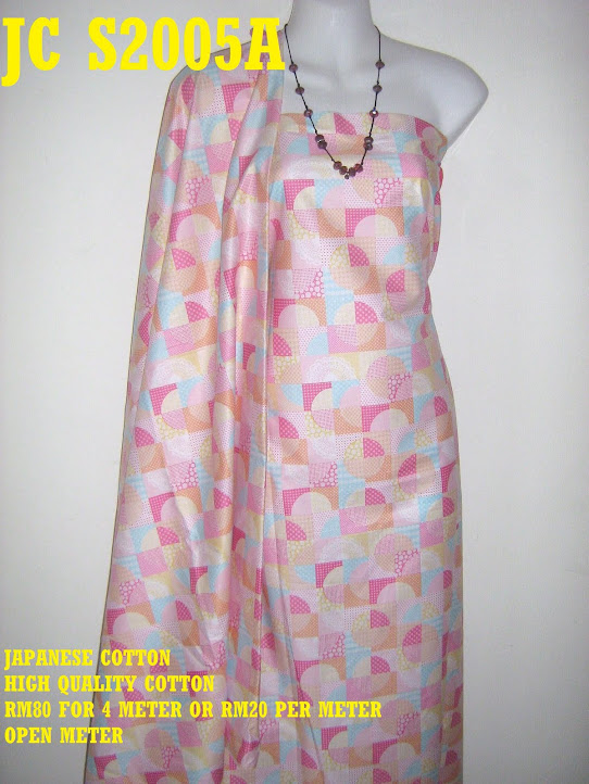JC 2005A: JAPANESE COTTON, 4 METER