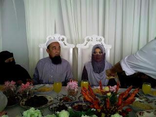 Ustaz Azhar Idrus Selamat Bernikah Kali Ke-3 ( Gambar )