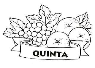uvas e tangerinas