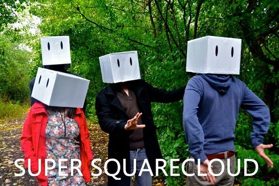 Super Squarecloud, Swindon UK based four piece Experimental Pop/Rock band from E103 of ArenaCast