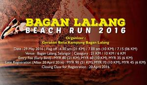 Bagan Lalang Beach Run 2016 - Bangan Lalang, Selangor