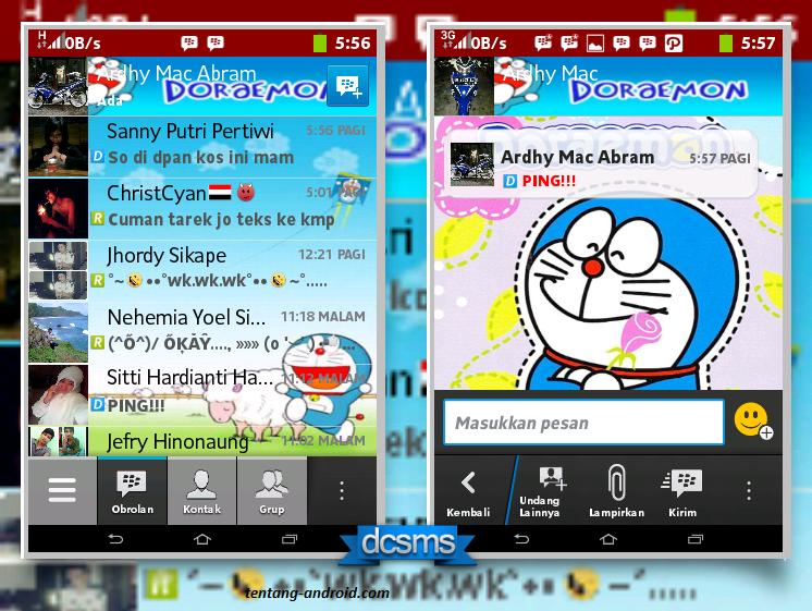BBM MOD Doraemon 2.2.1.45 Versi Terbaru