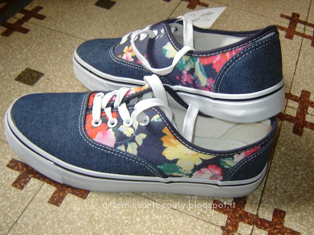 scarpe tela