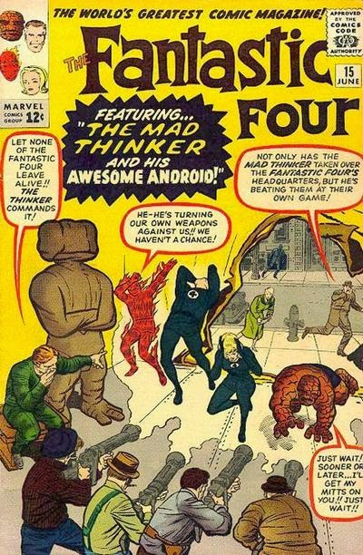 The Fantastic Four volumen I nº 15 - El Pensador Loco