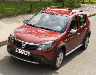 dacia sandero stepway 2010. Black Bedroom Furniture Sets. Home Design Ideas
