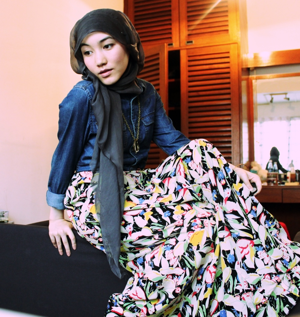 Casual Style With Hana Tajima Part II Tutorial Hijab