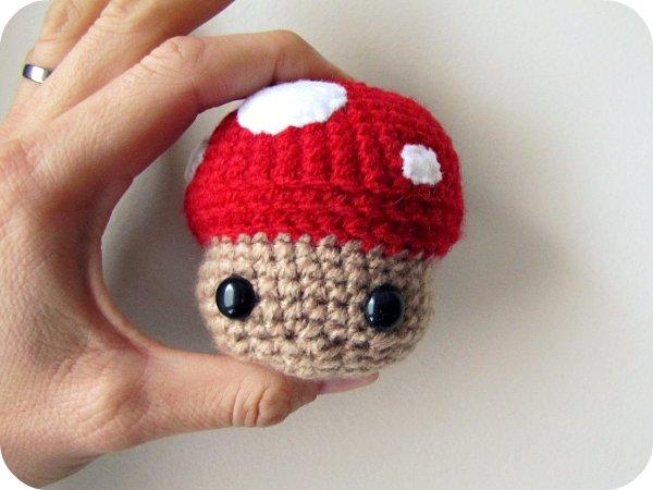 Amigurumi Crochet Mushroom : PaisleyJade: Amigurumi Mushroom