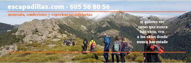 Escapadillas.com - Montaña, senderismo y experiencias solidarias.